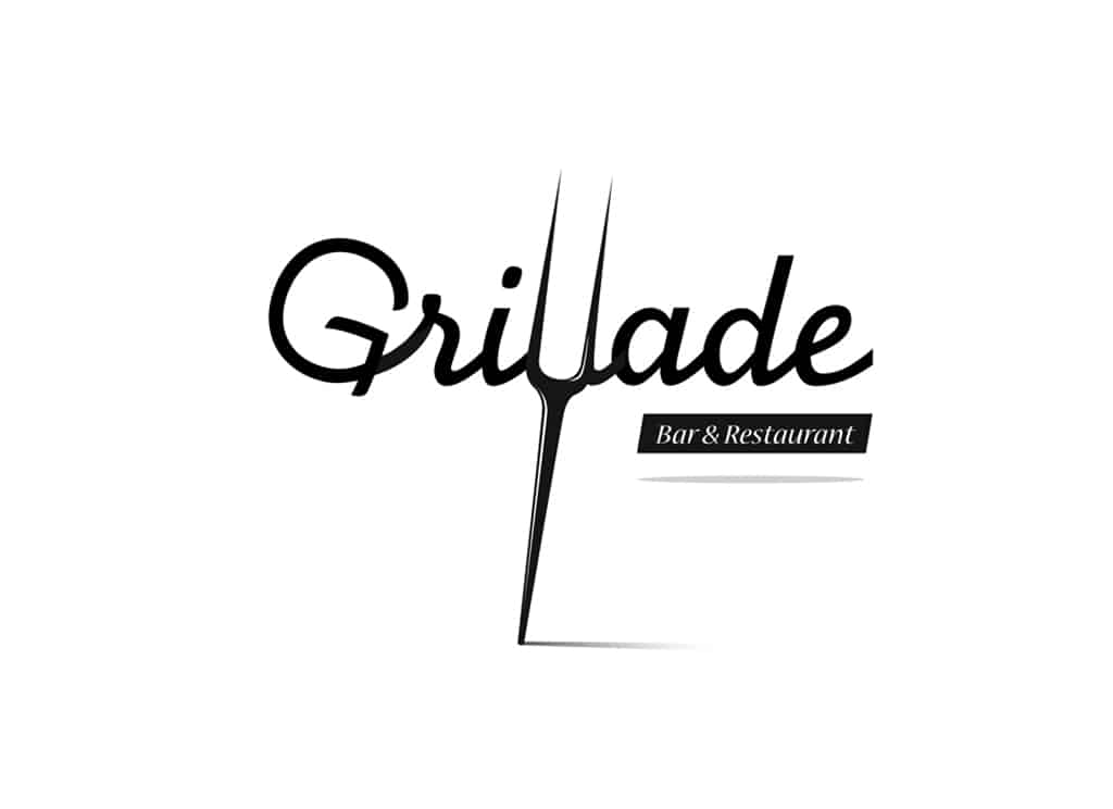 Logo Grillade - Noir