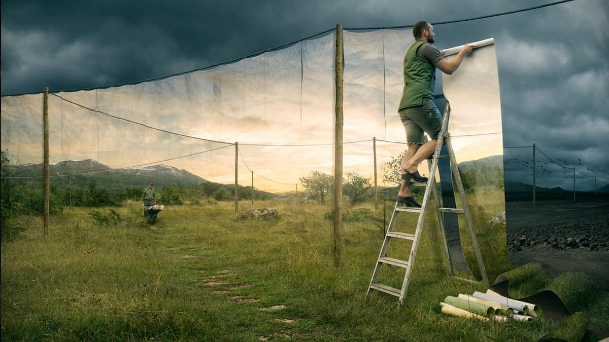 Erik Johansson - The Cover Up