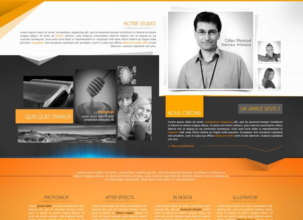 Template (webdesign)