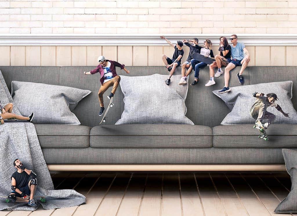 Vignette couch park
